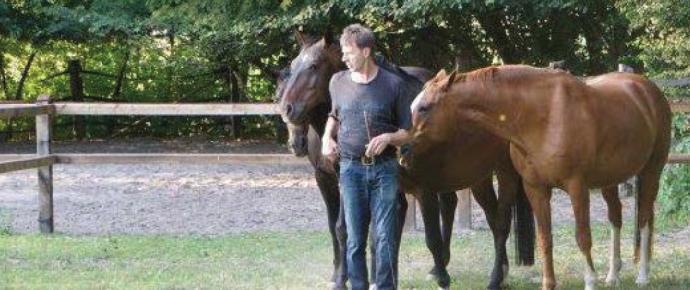 Zu Gast bei Gerd Römbke – Labona Saddles & Pads